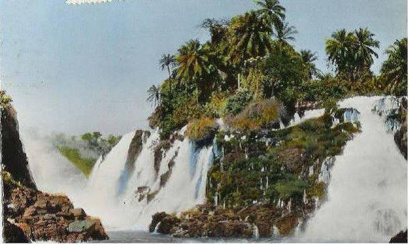 Les chutes Tembo- Congo